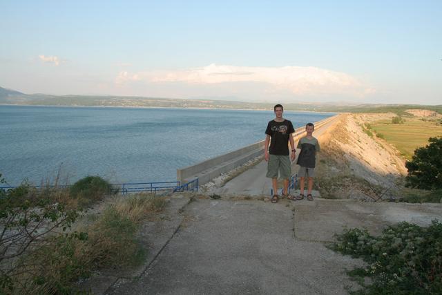 Jez na južni strani Buškega jezera