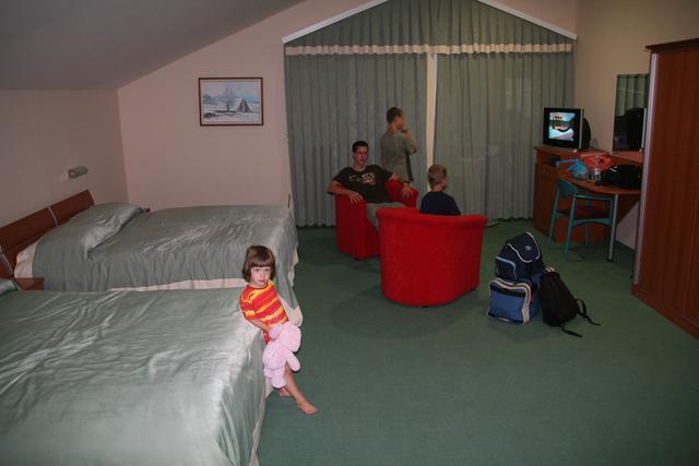 Motel v Livnem